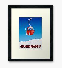 Grand Massif  Framed Print