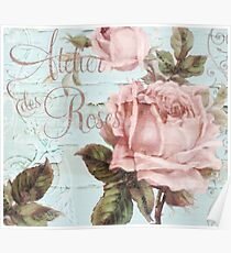 Atelier de Roses Poster