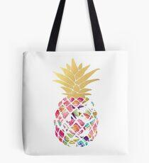 Colorful pastel pineapple Tote Bag