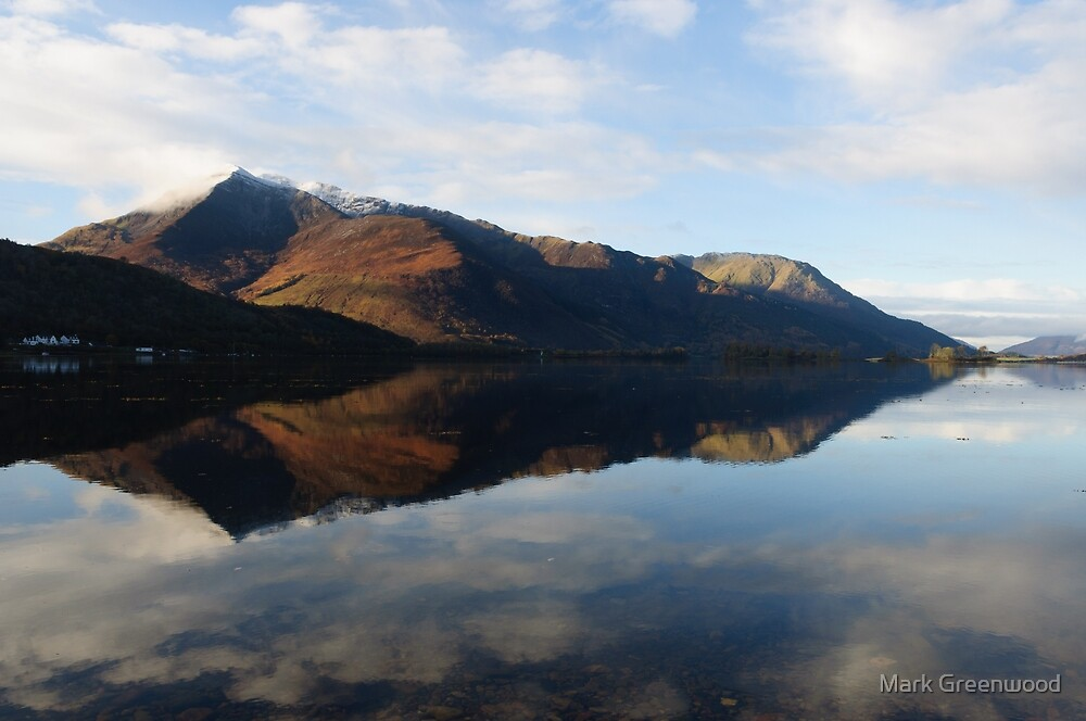 Loch Leven Reflections by Mark Greenwood