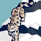 Snow leopard by Yetiland