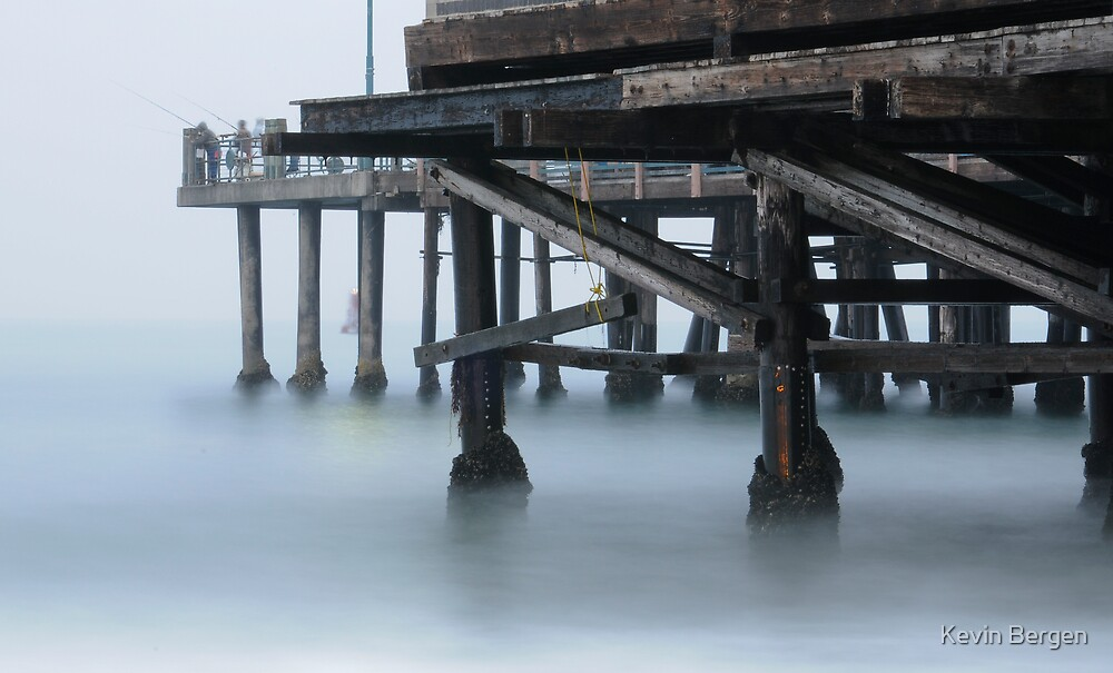 Misty Morning at Redondo by Kevin Bergen