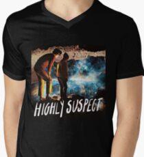 The Royal Pop Suspect Men's V-Neck T-Shirt