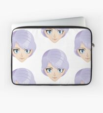 Girl with violet hair 2 Laptop Sleeve