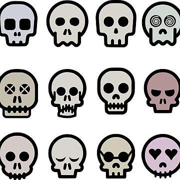 Skull Row by MUZA9