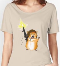 Hamster Rambo Women's Relaxed Fit T-Shirt