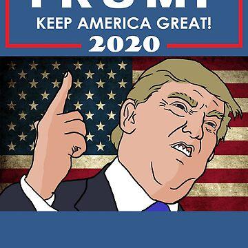Trump 2020 - Keep America Great! by antifeminismau
