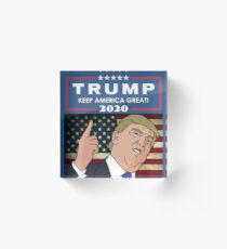 Trump 2020 - Keep America Great! Acrylic Block