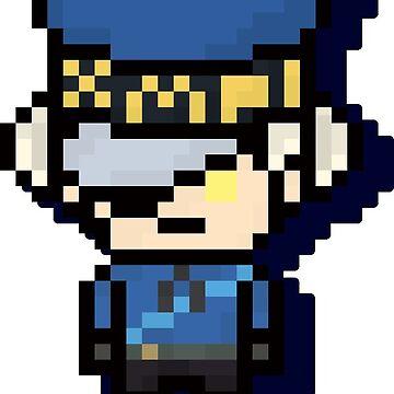 Caroline - Pixel Art by TatsuyoDragneel