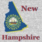 new hampshire state flag by peteroxcliffe