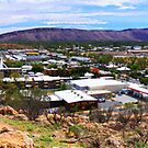 alice springs panorama  by Christopher Birtwistle-Smith