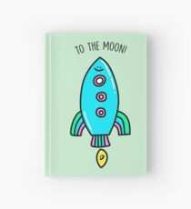 To The Moon! Hardcover Journal