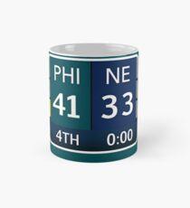 EAGLES SUPER BOWL CHAMPS (Scoreboard- 41-33) Mug