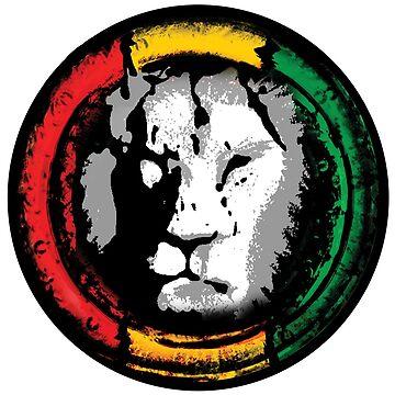 reggae lion von Periartwork