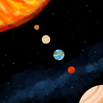 Solar system by Goldarcanine