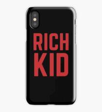 Rich Kid iPhone Case/Skin