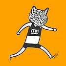 Cat-thlete #1 by evilflea