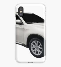 Luxury 4x4 suv car isolated iPhone Case/Skin