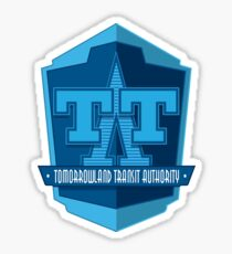 Tomorrowland Transit Authority - Peoplemover Sticker