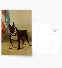 Earl, Maud (1864-1943) - The Power of the Dog 1910 (Boston Terrier) Postcards
