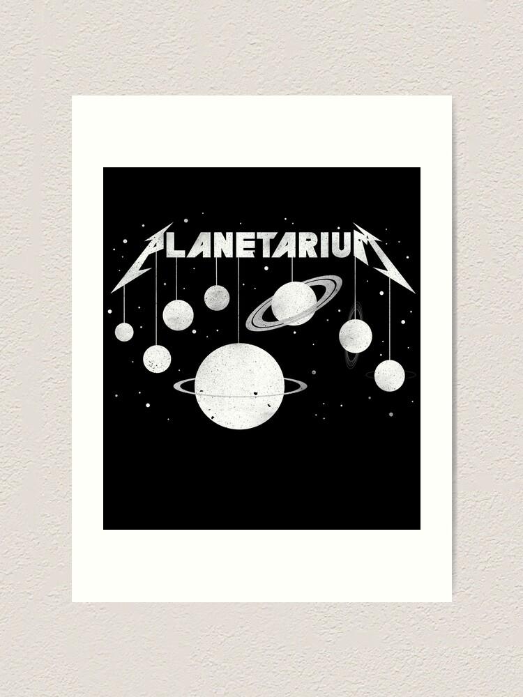 Alternate view of Planetarium (welcome Home) Art Print
