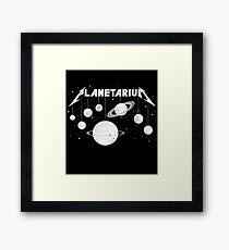 Planetarium (welcome Home) Framed Print