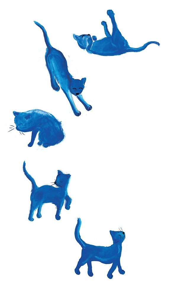 Blue Cats by Ashley Crowley