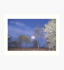 Quilpie at Night © Vicki Ferrari Photography Art Print