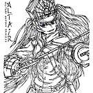 Military Uniform Princess by Zenemijil