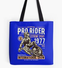 Reunion Pro Rider Extreme Sport 1977 Sunday, Dec 9th, 1977 - Freestyle International Show Tote Bag