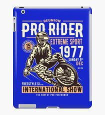 Reunion Pro Rider Extreme Sport 1977 Sunday, Dec 9th, 1977 - Freestyle International Show iPad Case/Skin