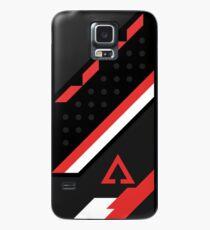 CSGO | Schwarz, Rot und Weiß Hülle & Klebefolie für Samsung Galaxy