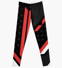 CSGO | Black, red & white Leggings