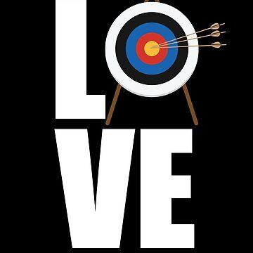 Archery Design - Love by kudostees