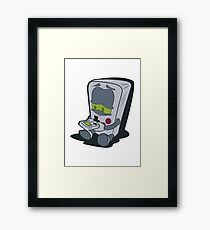 GameBoy Plays Gameboy... Framed Print