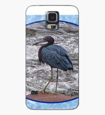 Little Blue Heron at the River Case/Skin for Samsung Galaxy