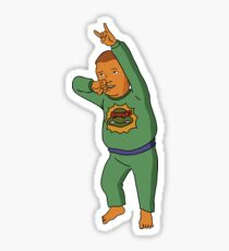 Bobby Hill - Teenage Mutant Ninja Turtles Pajamas Sticker