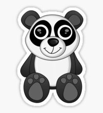 Bay-Bay Panda Tee Sticker