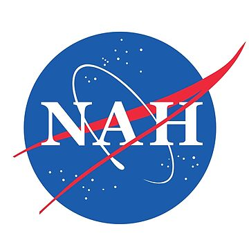 NASA Nah logo design by DanDobsonDesign