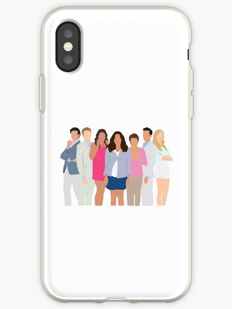 half off fe0e7 95e93 'Jane The Virgin Cast' iPhone Case by RikkasRiginals