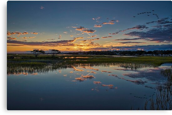 Cloud Reflections by TJ Baccari Photography
