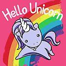Hello Unicorn by Gilles Bone