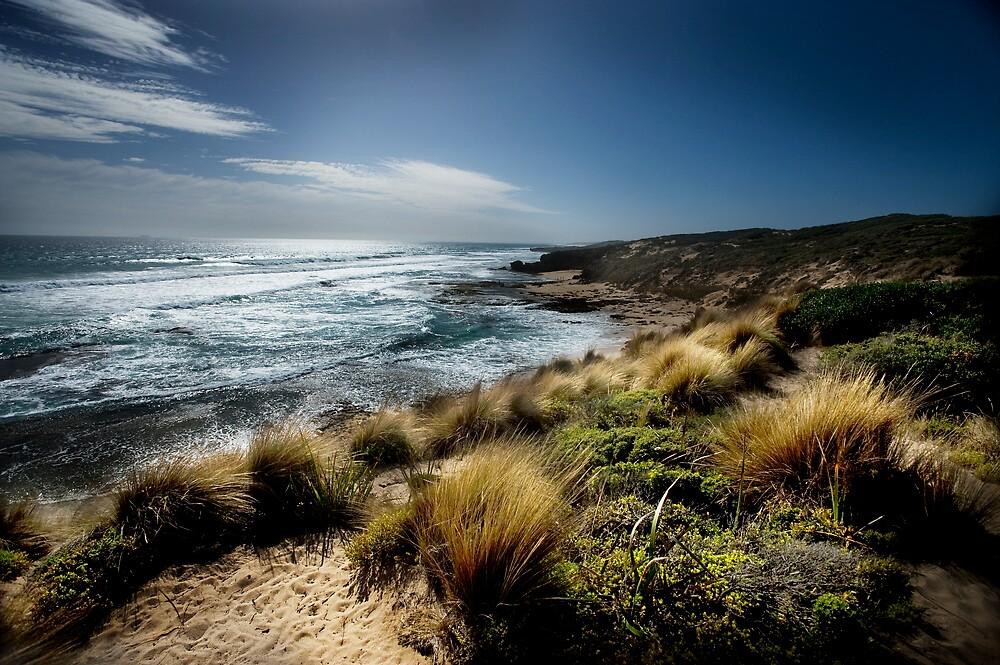 Blairgowrie Back Beach by Melinda Kerr