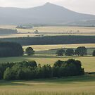 Bennachie and Barley 2 by Jennifer J Watson