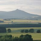 Bennachie and Barley 1 by Jennifer J Watson