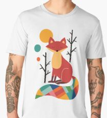 Rainbow Fox Men's Premium T-Shirt