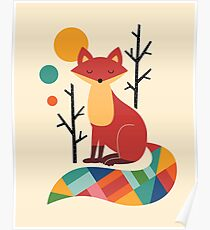 Regenbogenfuchs Poster