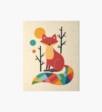Rainbow Fox Art Board