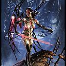 Cyberpunk Painting 089 by Ian Sokoliwski