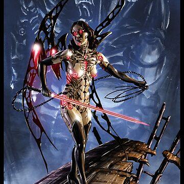 Cyberpunk Painting 089 by Sokoliwski